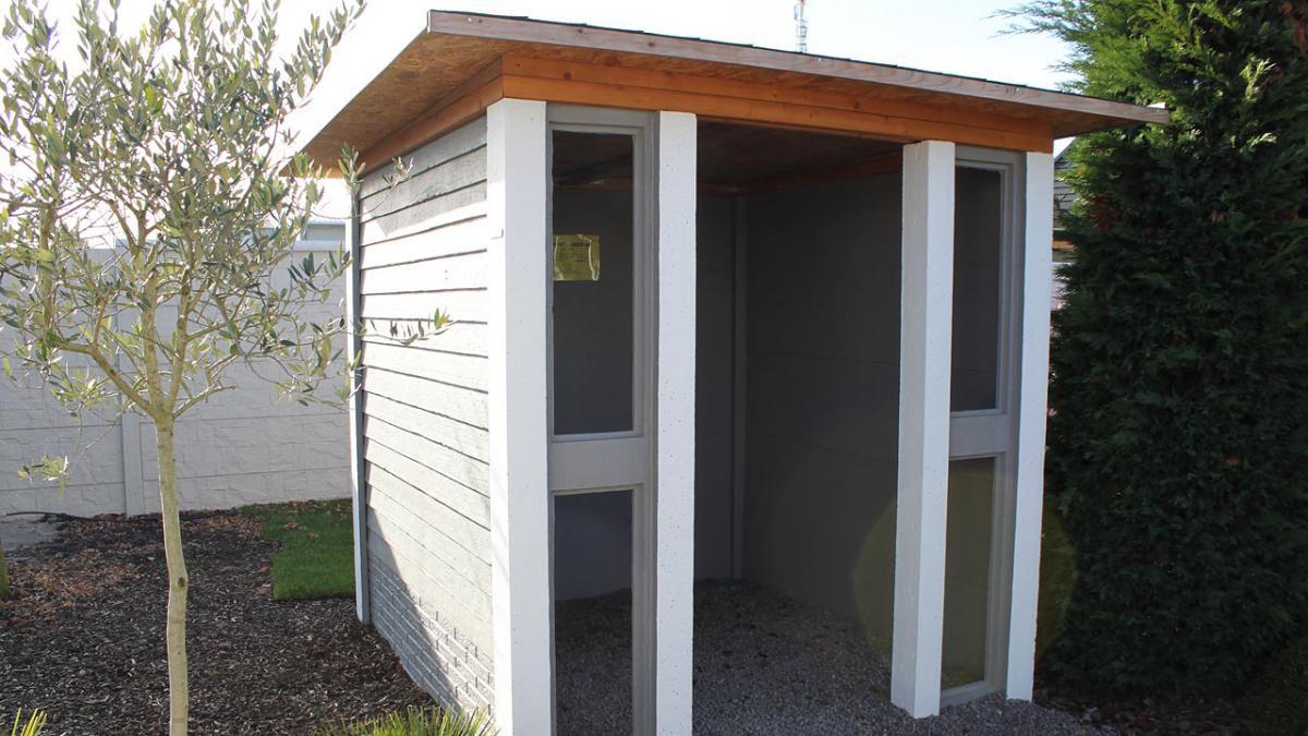 gartenhaus mediterran wohndesign und inneneinrichtung. Black Bedroom Furniture Sets. Home Design Ideas